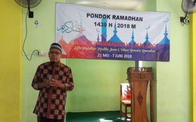 Pembukaan Pondok Ramadhan 1439 H