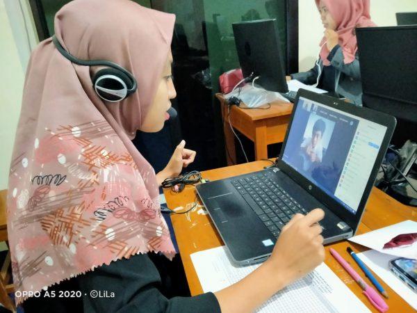 Mengawali Tahun Pelajaran semester Genap SMP Muda Inovasi mengadakan zoom meeting pada masing-masing kelas